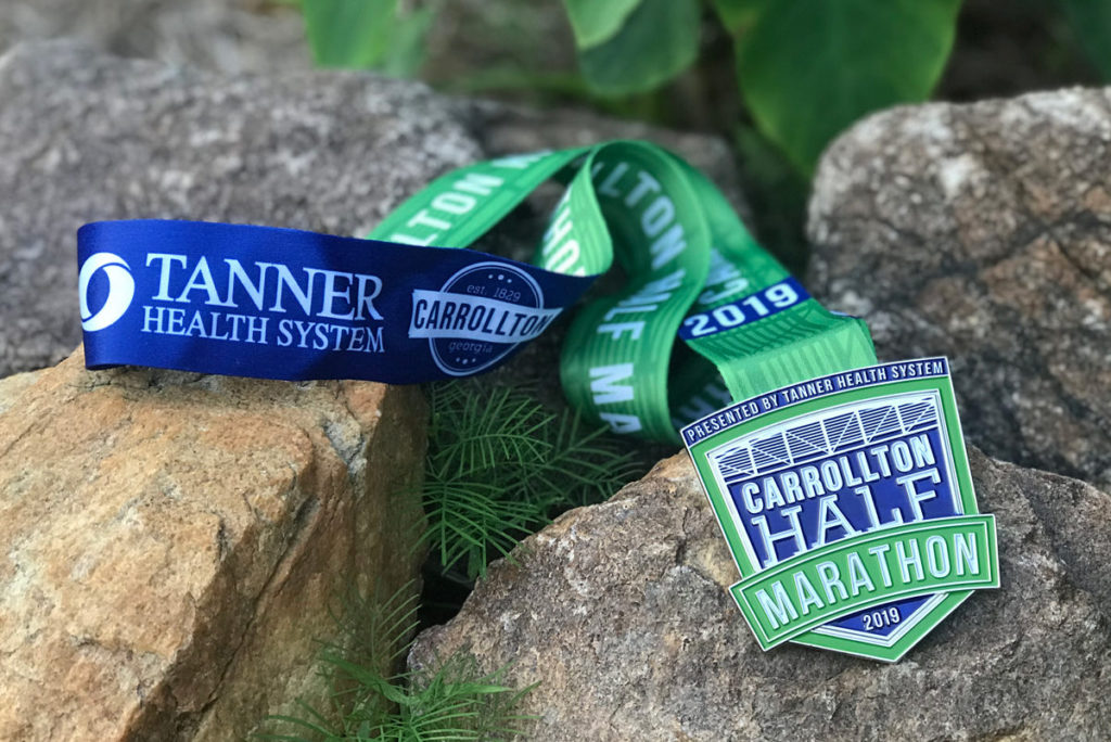 Carrollton Half Marathon Medal