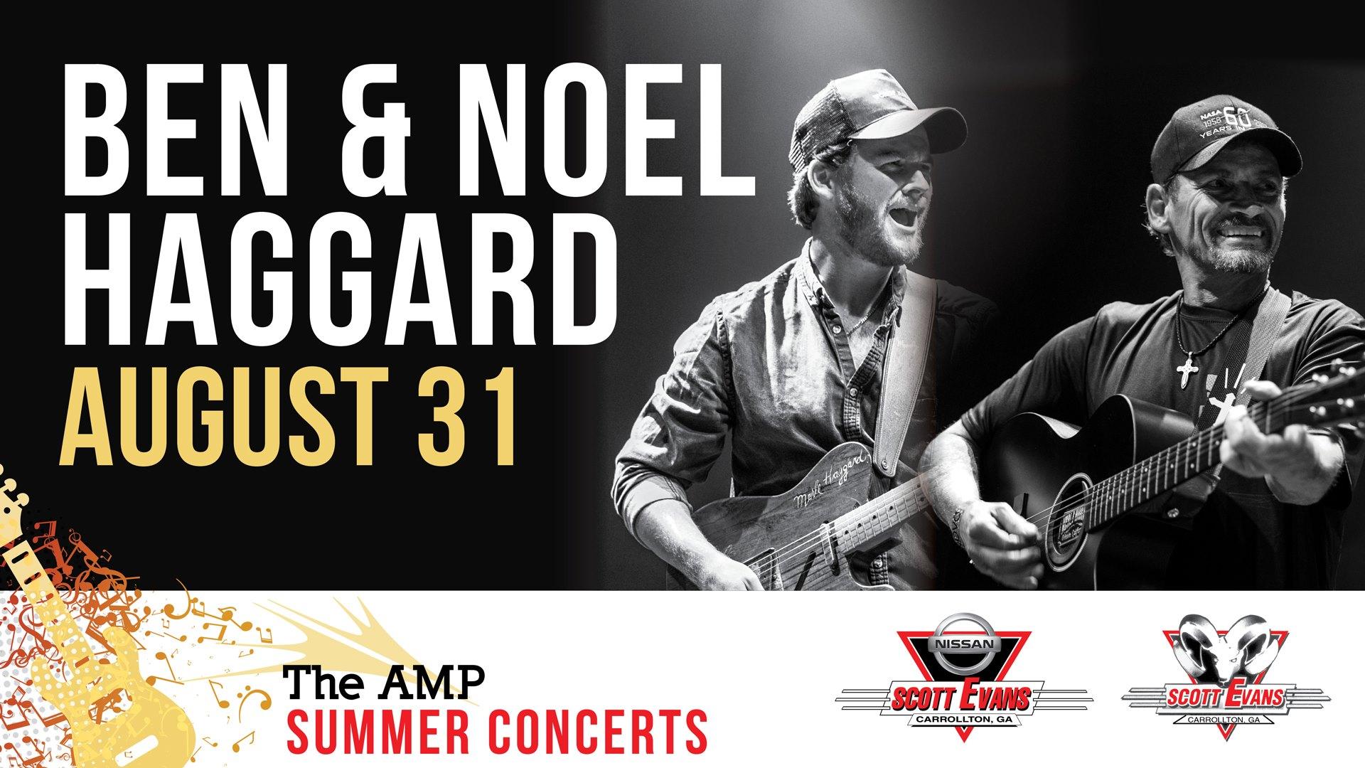 Amp Summer Concert Series: Ben & Noel Haggard