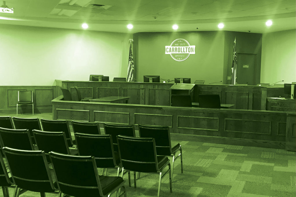 courtroom meeting space