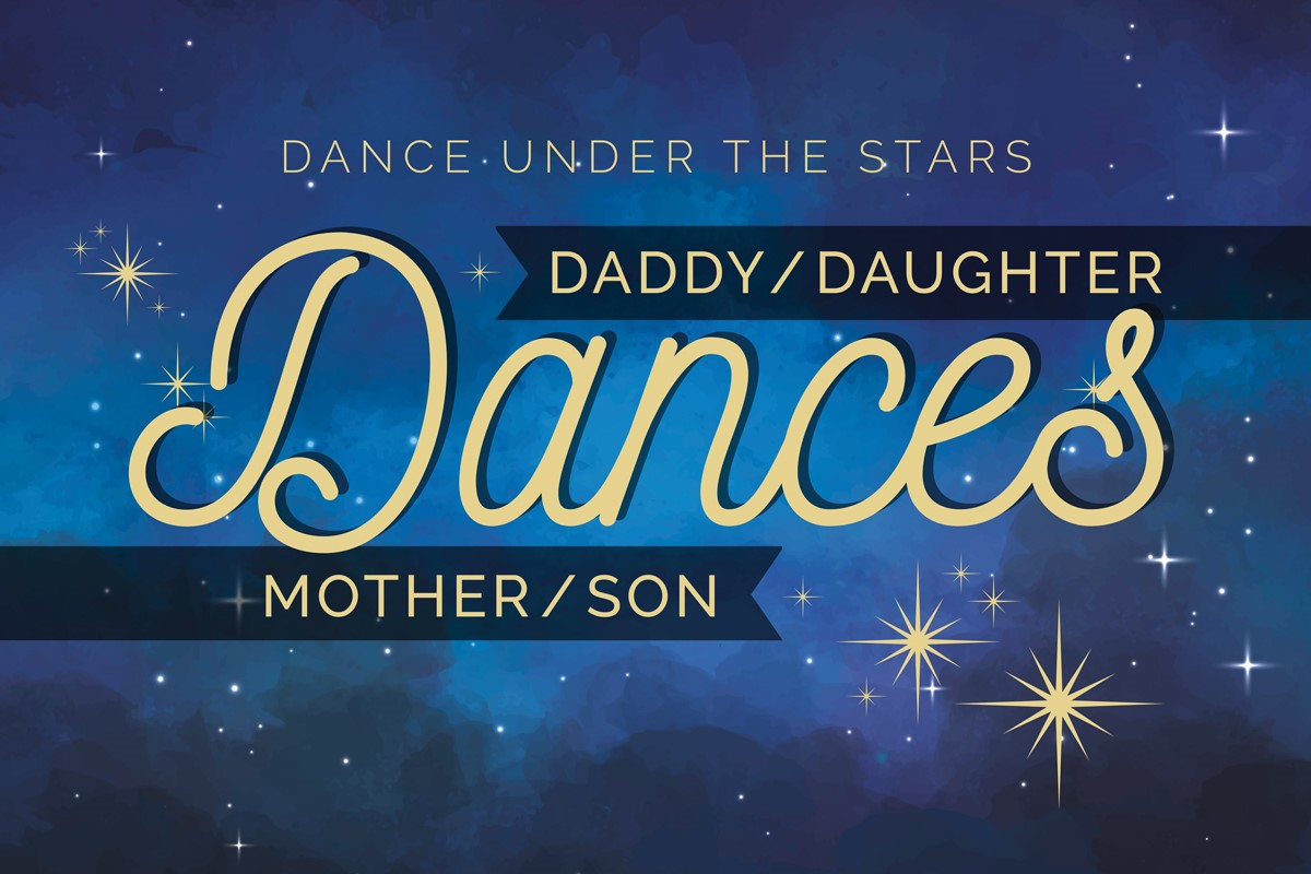 Daddy/Daughter/Mother/Son Dances
