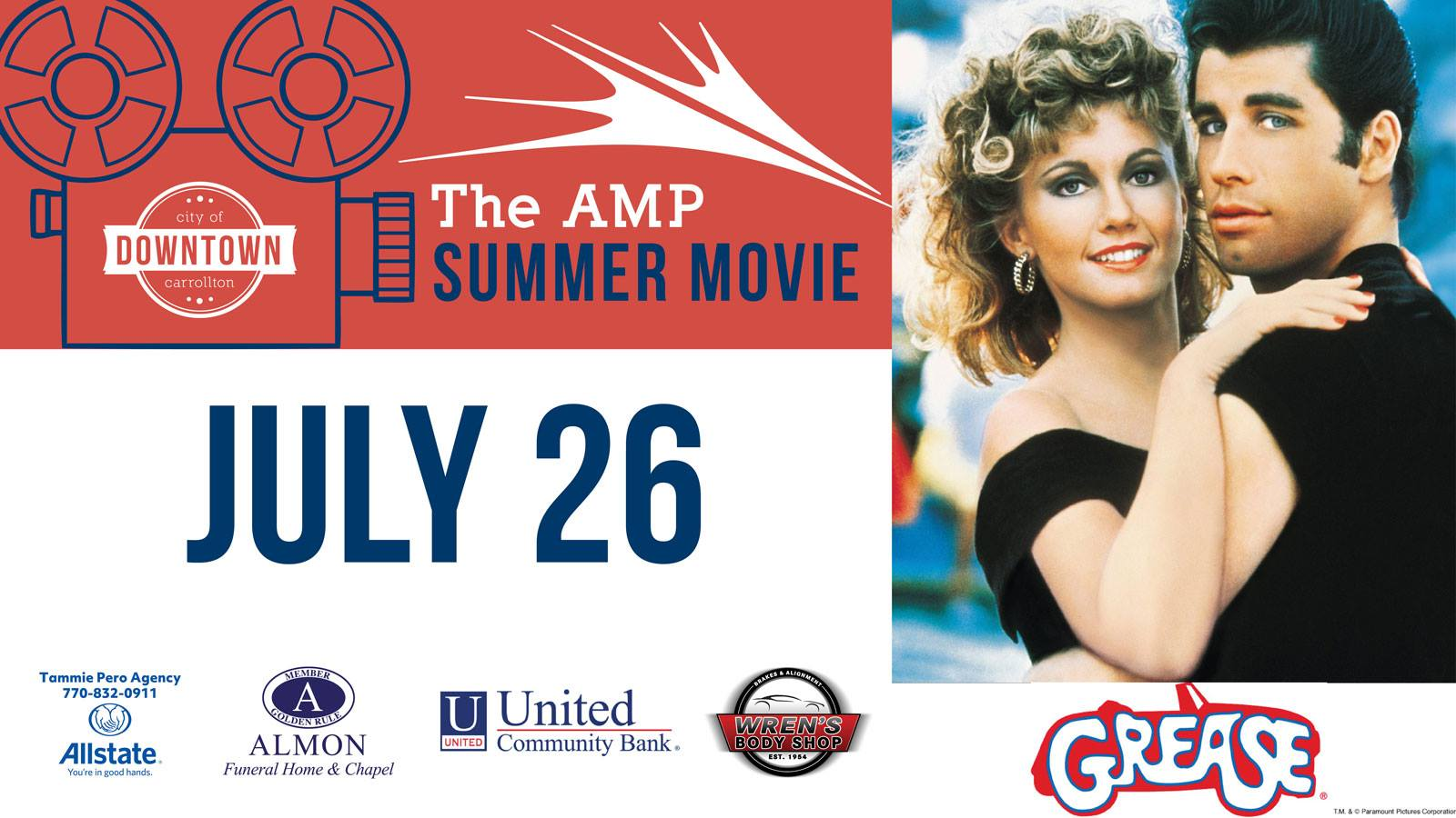 Amp Summer Movie Series: Grease