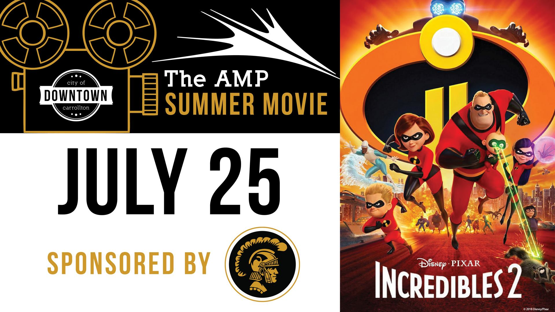 Amp Summer Movies Series: Incredibles 2