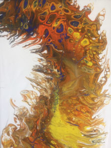 Color and Movement: Experiments in Acrylic Pour