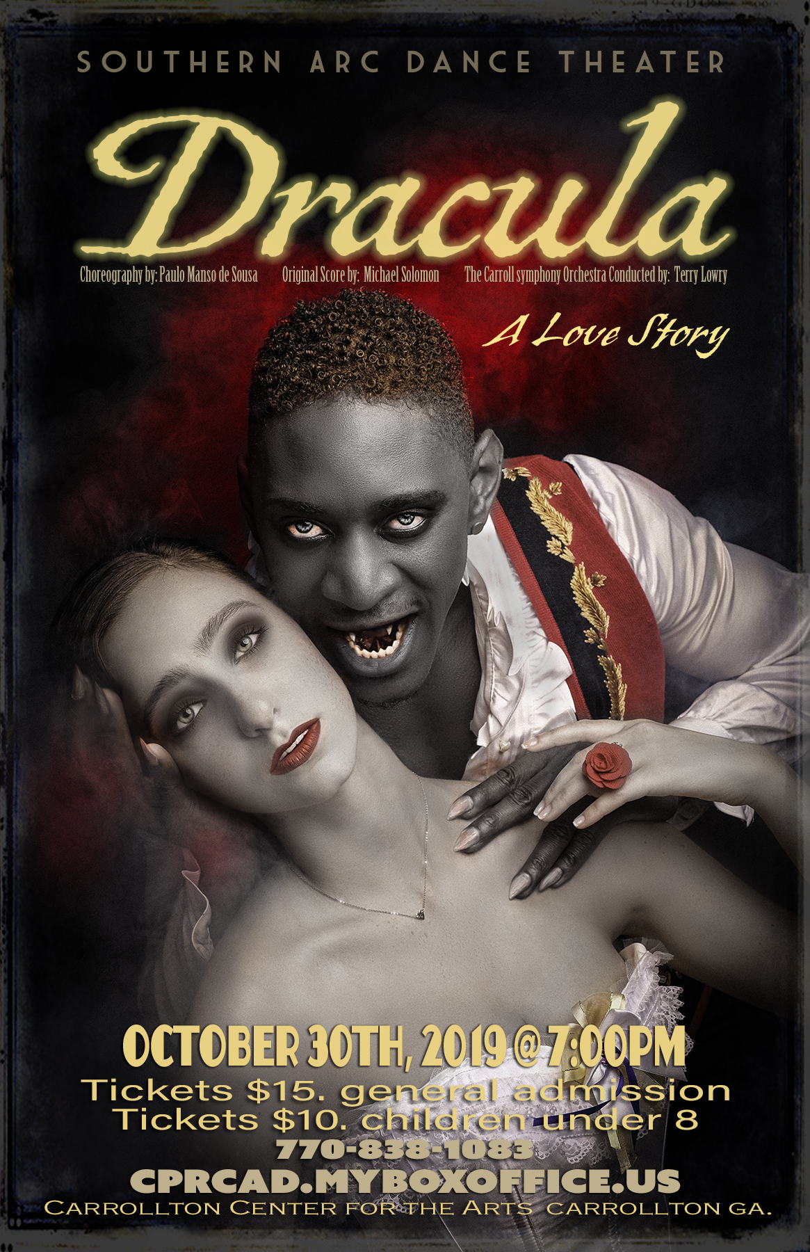 Dracula: Southern Arc Dance Theater and CSO