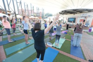 Yoga at the Amp