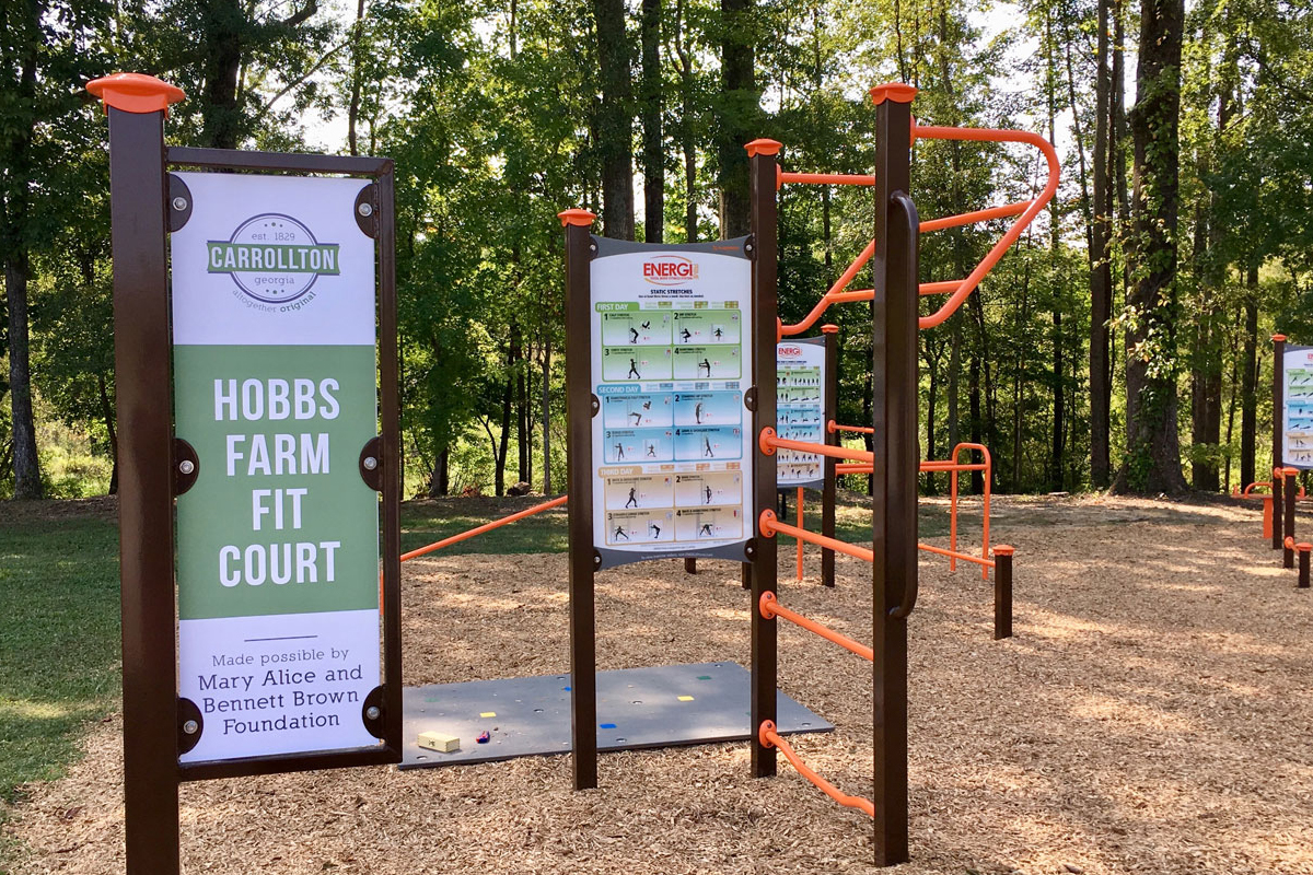 Hobbs Farm Fit Court Opens