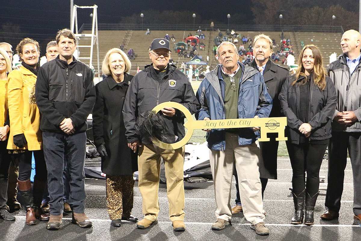City of Carrollton Honors Dr. James Pope