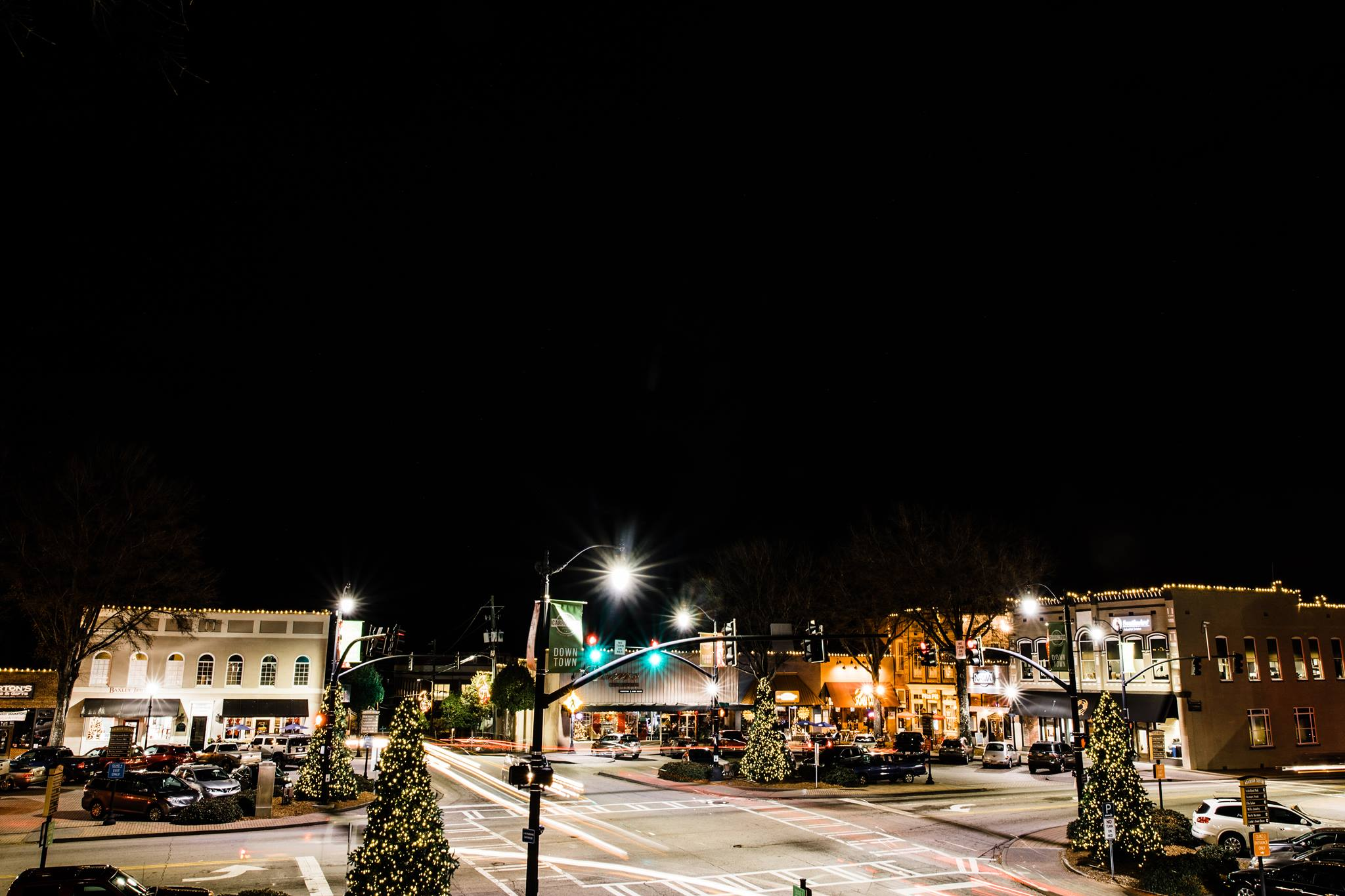 Lighting of the Square on Small Business Saturday