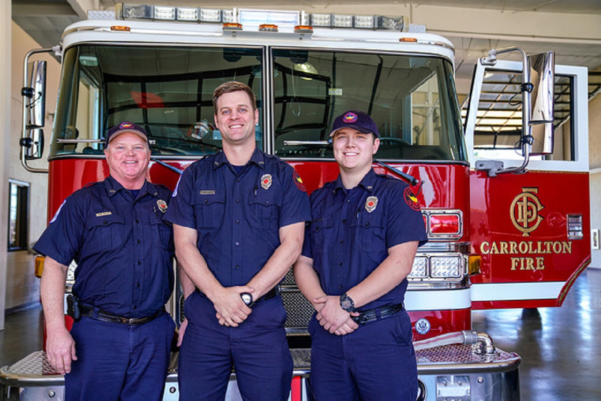 Firefighters Save Choking Child