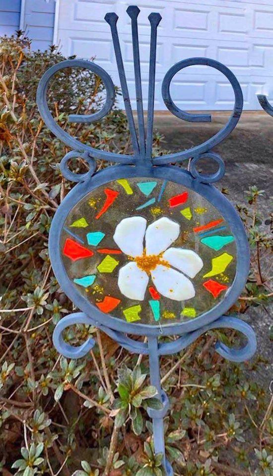Make a Glass Garden Stake Workshop