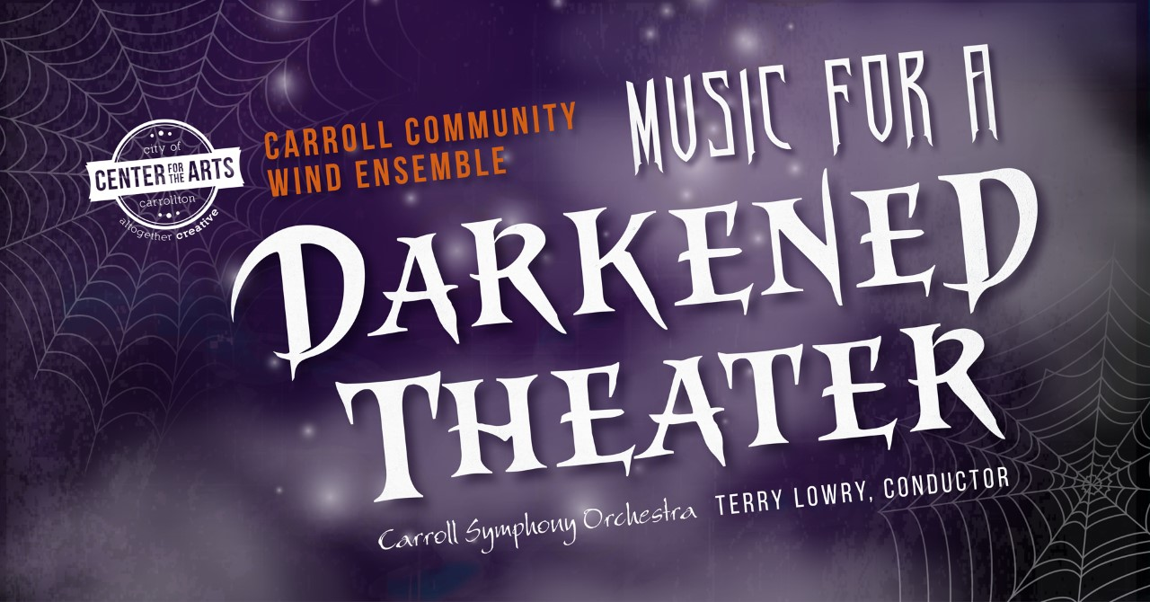 """""""Music For a Darkened Theater"""" – Carroll Community Wind Ensemble Fall Concert"""