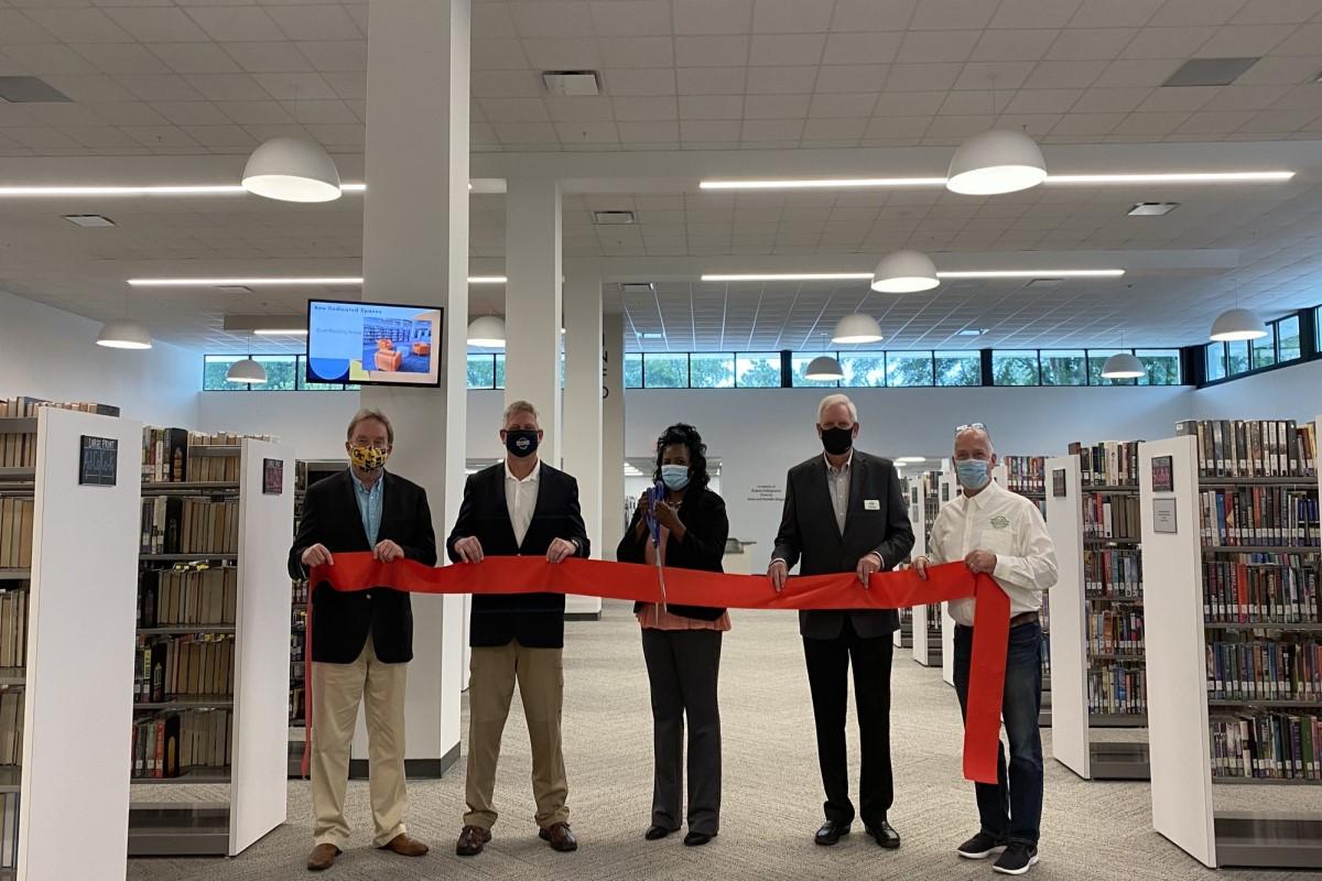 Neva Lomason Library Reopens