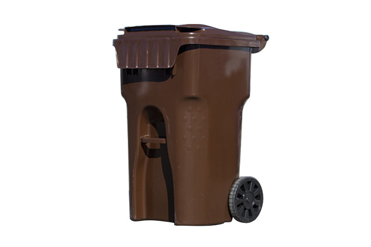 City Offers New Brown Yard Debris Bins
