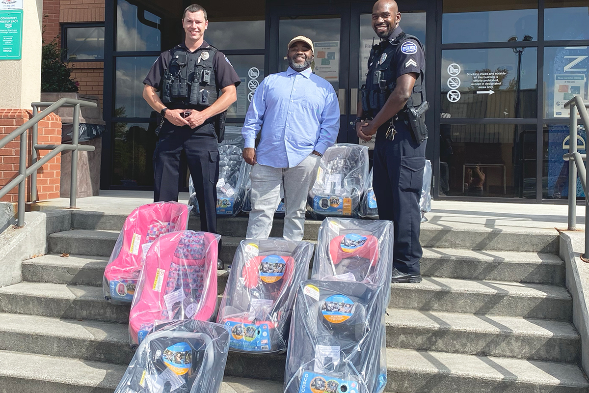 Carrollton Police Car Seat Program Making an Impact in the Community
