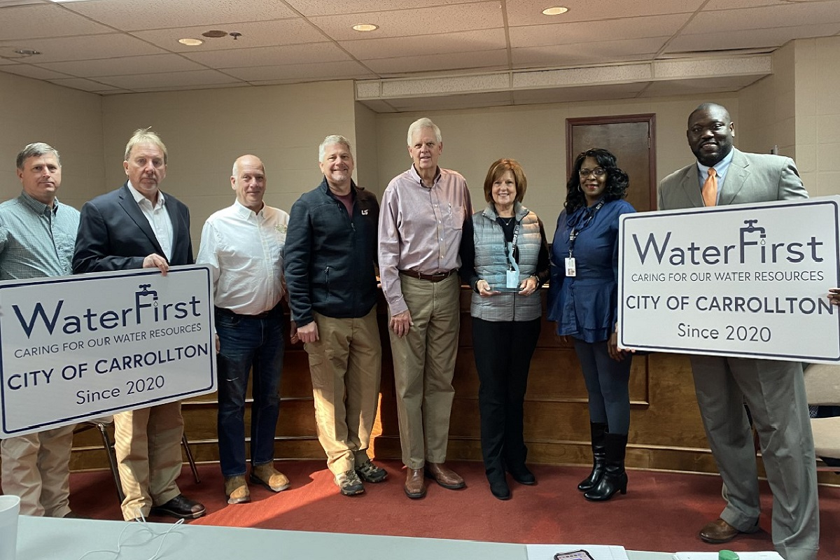 Carrollton Recognized as WaterFirst Community