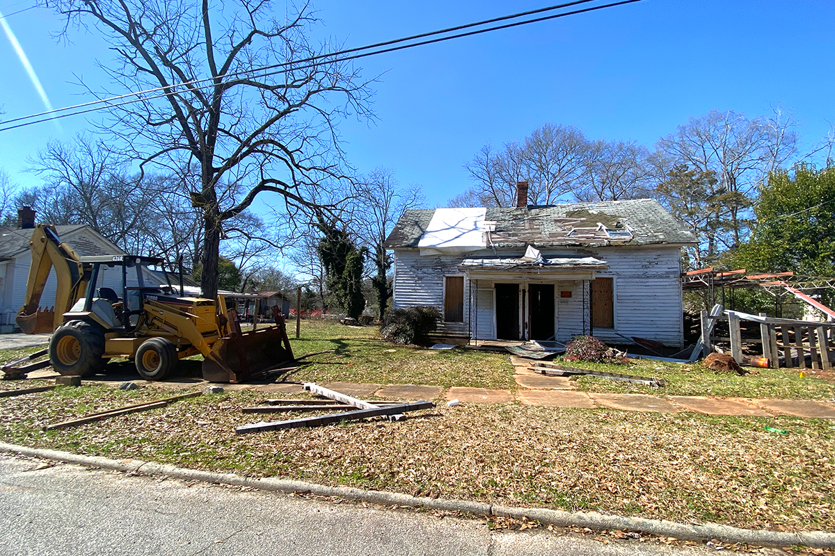Clearing Blighted Properties