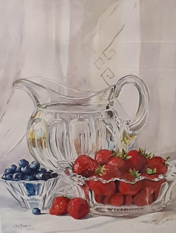 Gallery Play: Watercolor Still Life
