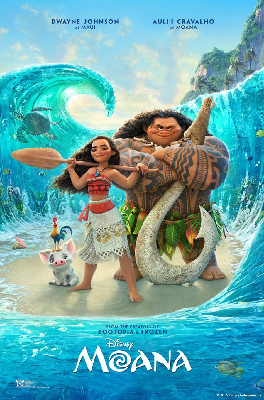 Amp Summer Movies Series: Moana