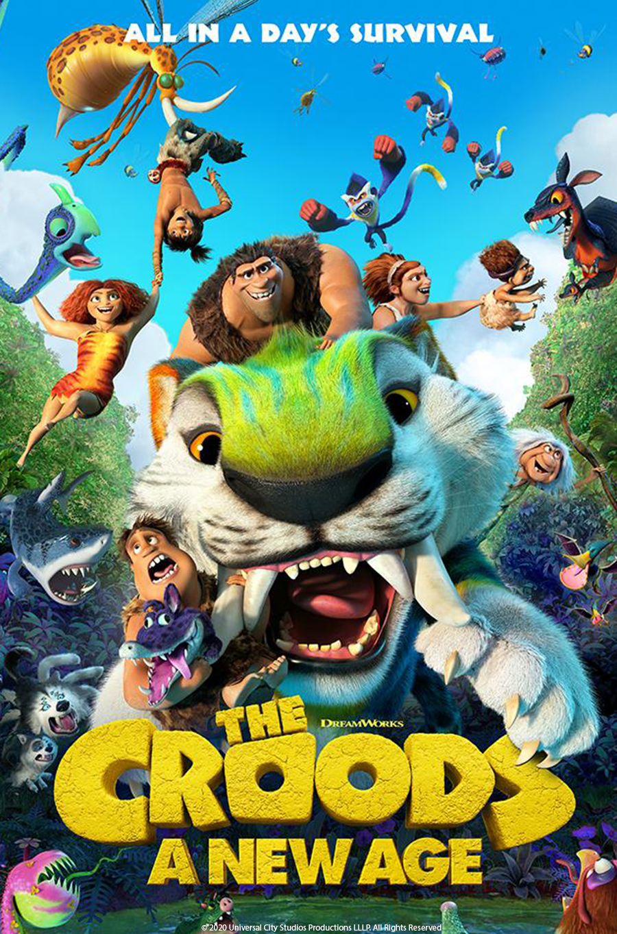 Amp Summer Movies Series: The Croods A New Age